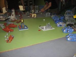 the battle field