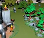 Eldar Attack Advancing Grey Knights