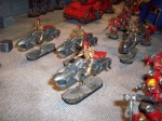 Custodes on Jetbikes