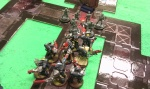 The Deathwatch Unload on Some Zombies
