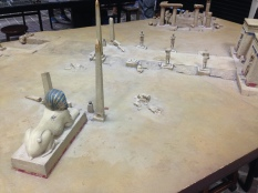 Gaming Hall Table Egyptian