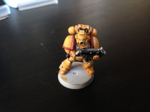 Imperial Fists Tactical Marine