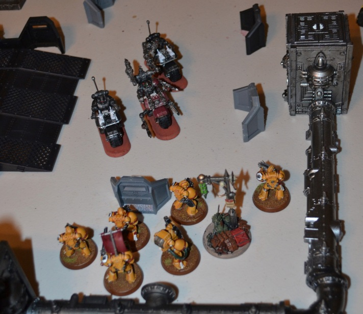 Bikes Assault Imperial Fist Squad