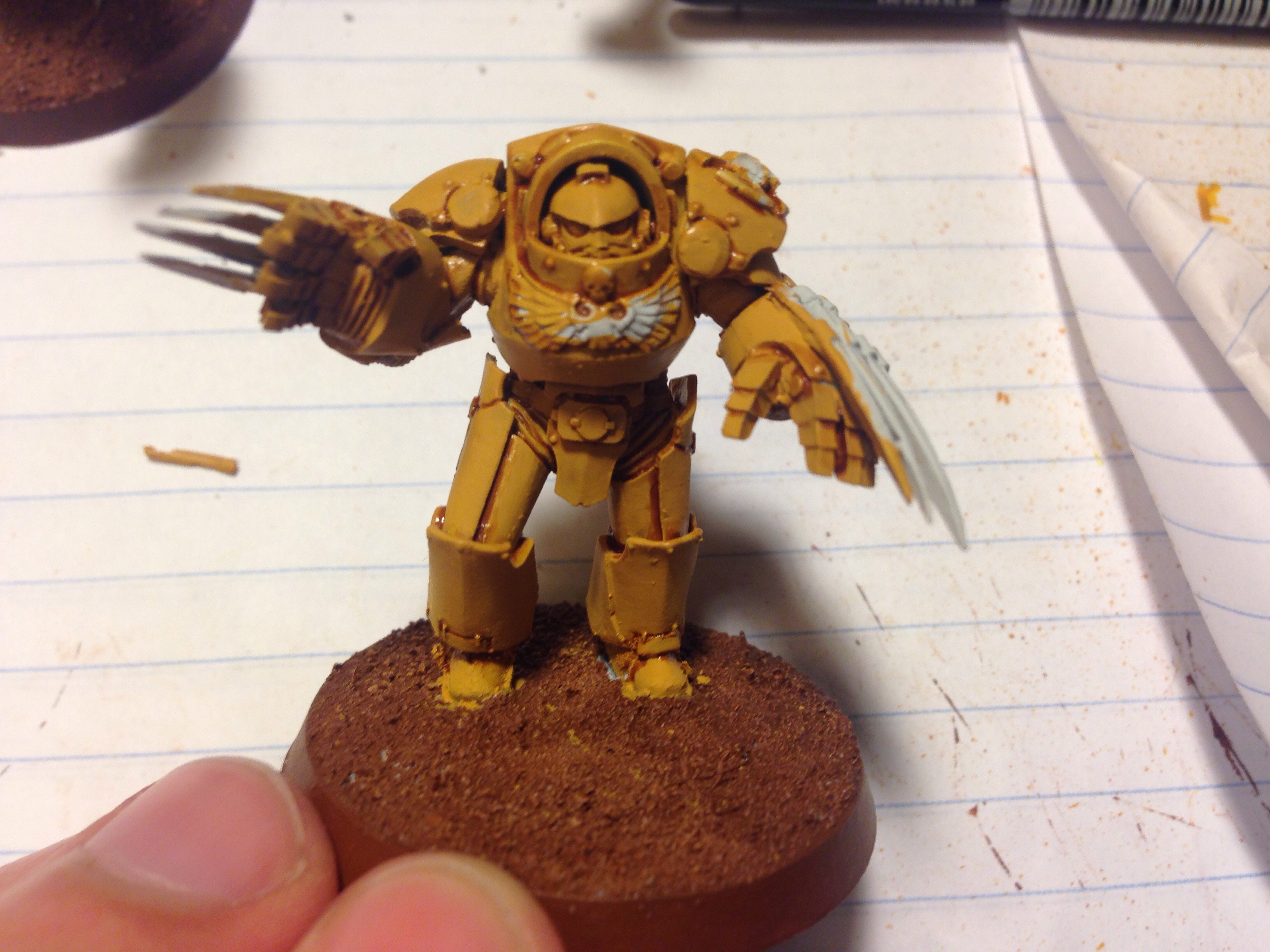imperial fist work in progress