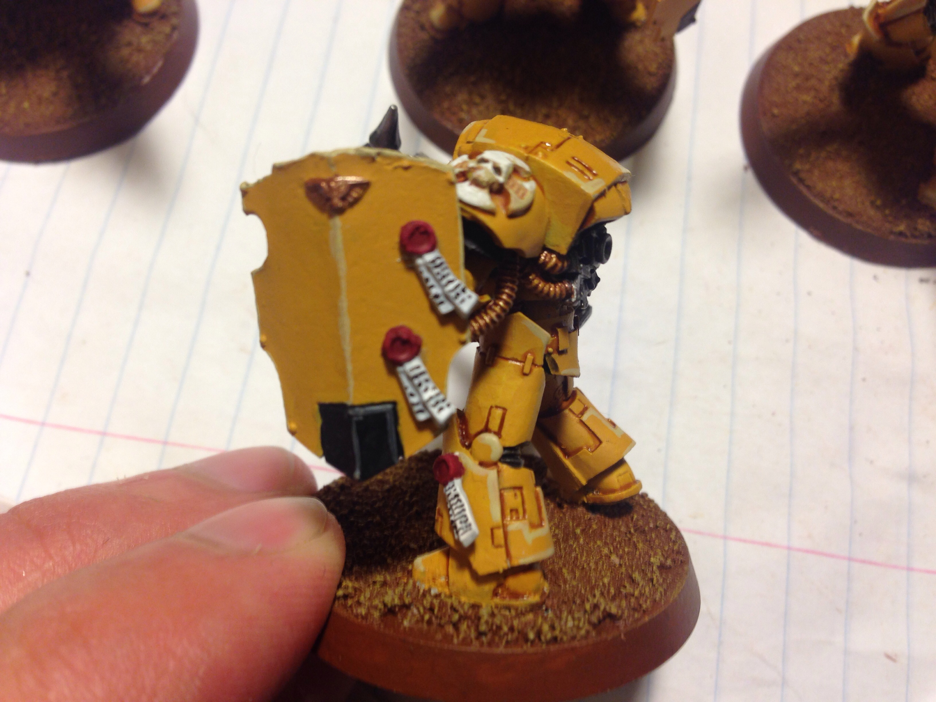 imperial fists terminator work in progress