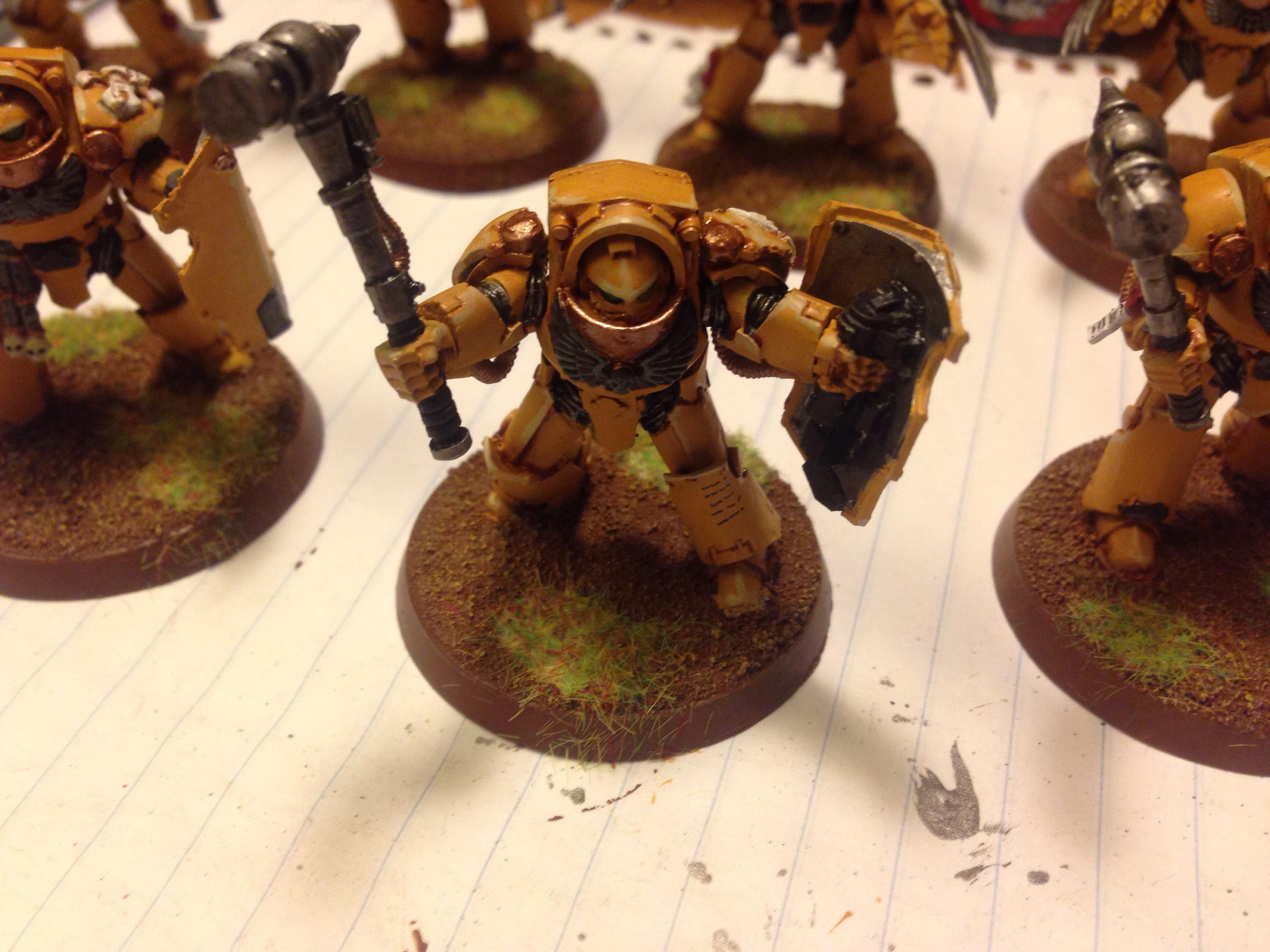 imperial fists terminators work in progress