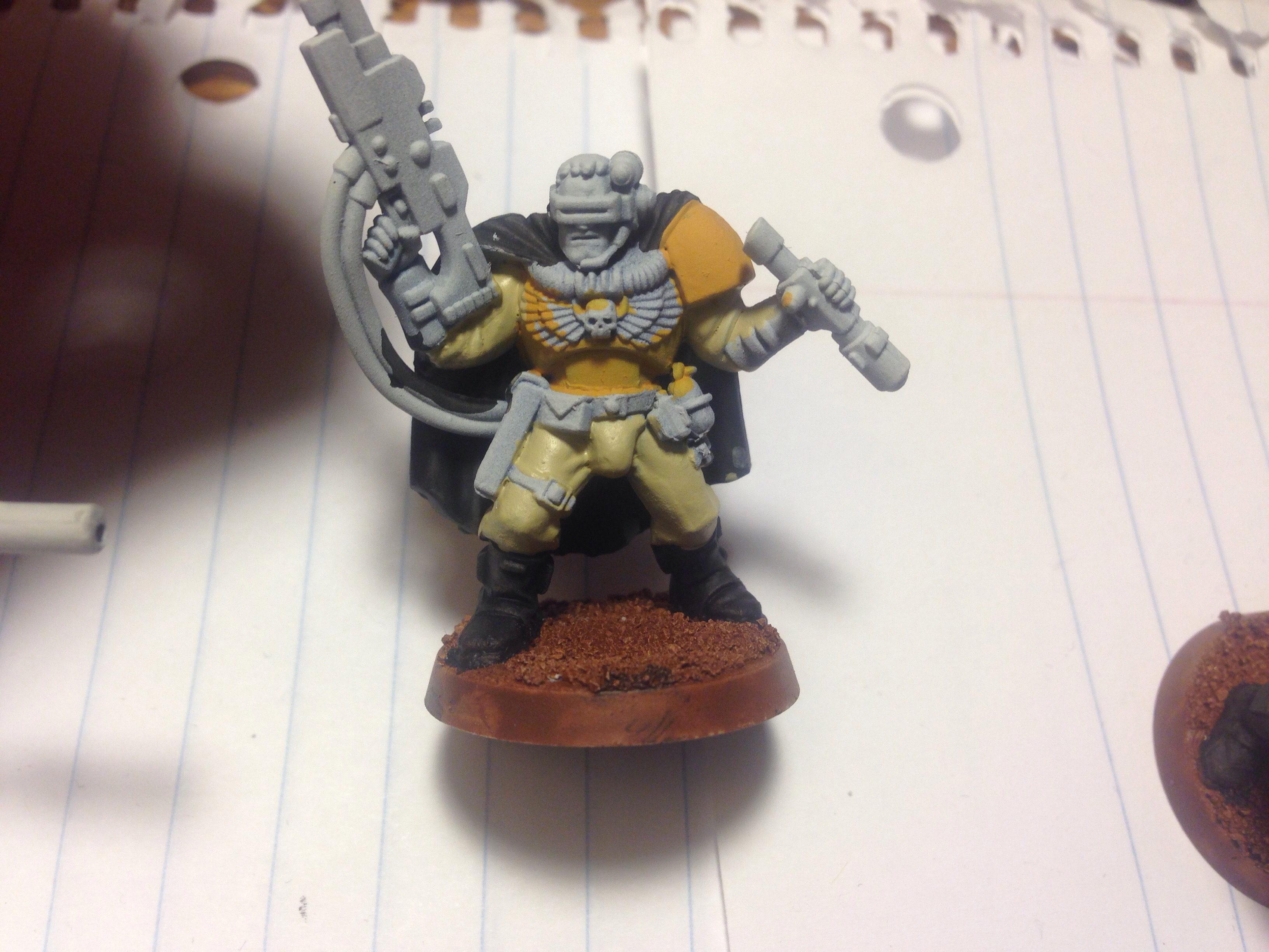 imperial fists scout work in progress