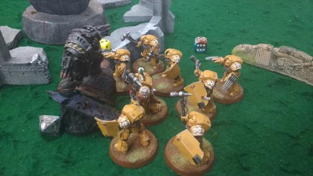 Perturabo & Imperial Fists Terminators