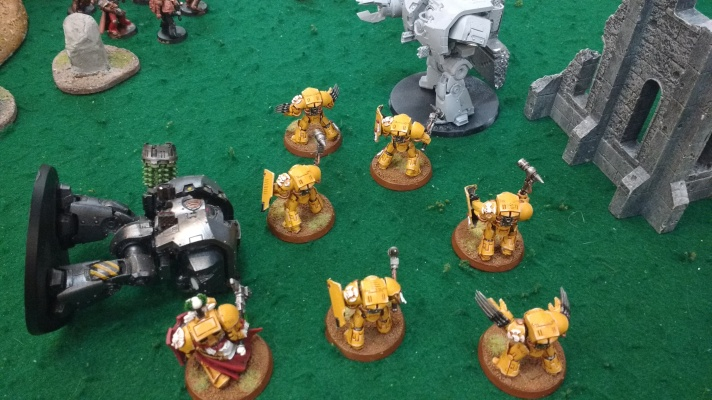 Lysander & Terminators fight a second Leviathan Dreadnought