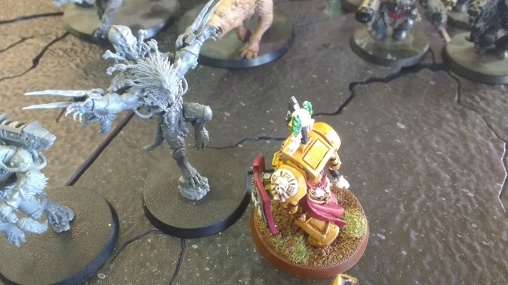 Lysander VS Wulfen pack leader