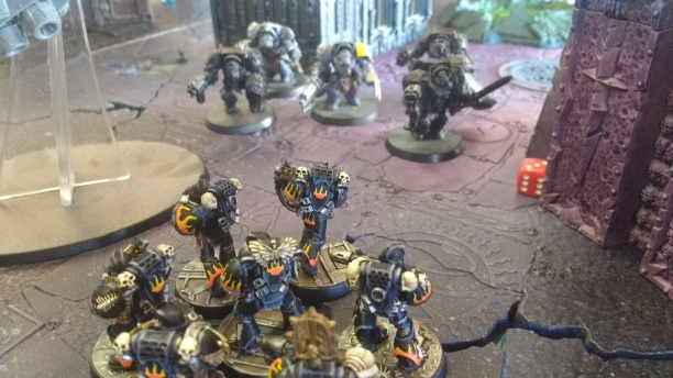 Legion of the Damned VS Space Wolf Terminators