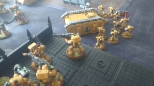Devastators Fire Against Imperial Fists