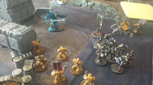 Legion of the Damned Fight Daemon Prince