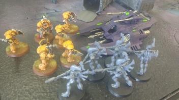 Lysander Assaults Wave Serpent