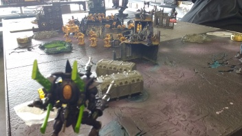Wraithknight Deploys
