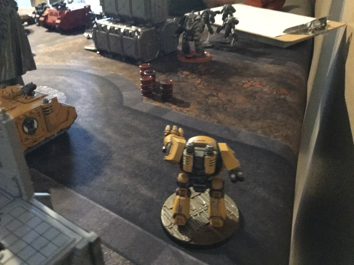 Contemptor Dreadnought Advances