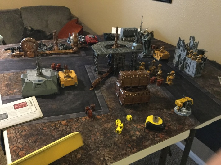 Imperial Fists Advance