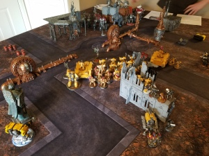 Imperial Fists Corner Deployment