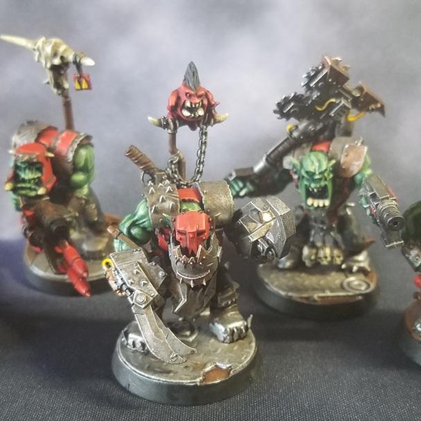 Ork Nob Squad