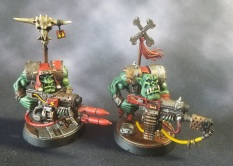 Ork Nobz with Combi Weapons