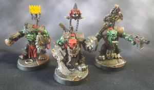 Ork Nobz with Melee Weapons