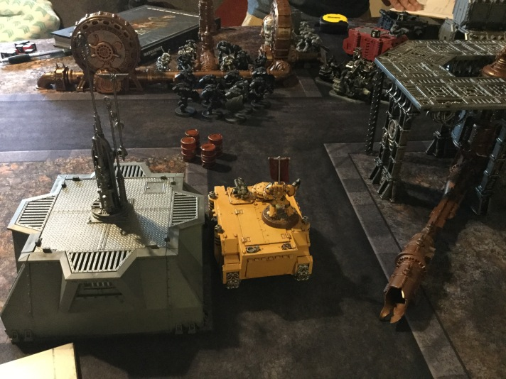 Rhino Advances Towards Iron Hands