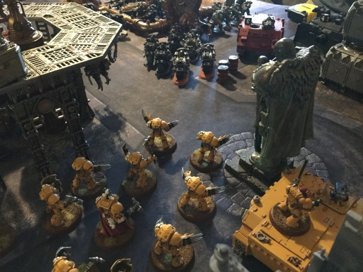 Terminators & Lysander Advance