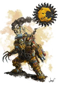 Ork Boy Bad Moons Clan