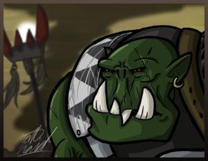 Ork Boy Goff Clan