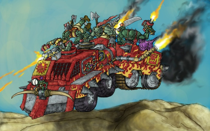Ork Faction Rules Wishlist – Patricks 40k Hobby