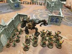 Meka Dread and Ork Boys