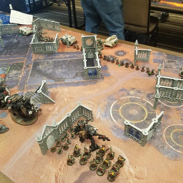 Game 1 Setup