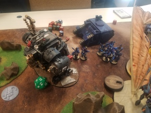 Morkanaut Charges