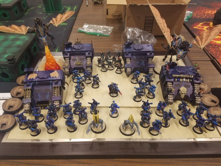 Nightlords army at GengisCon