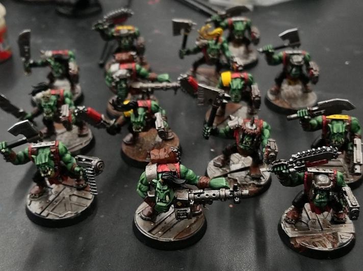 Ork Slugga Boys