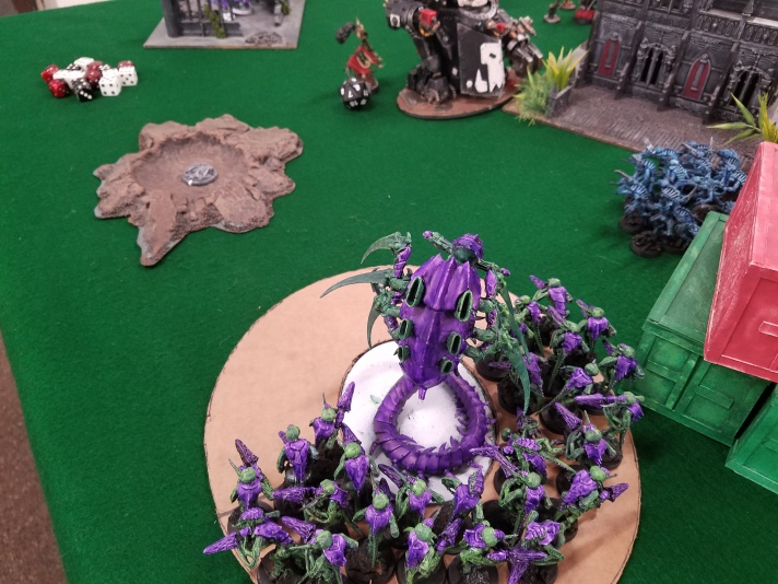 Termagaunts Destroy Orks