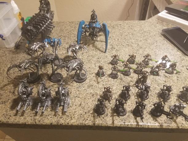 1250 Necron Army
