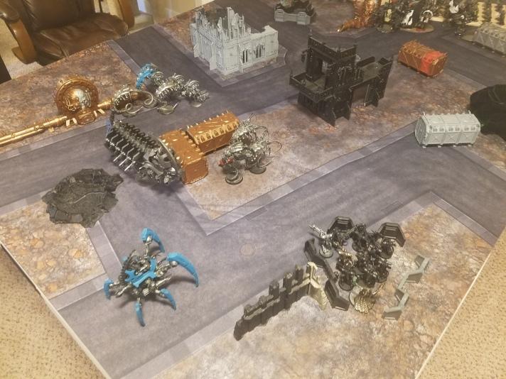 Necron Deployment